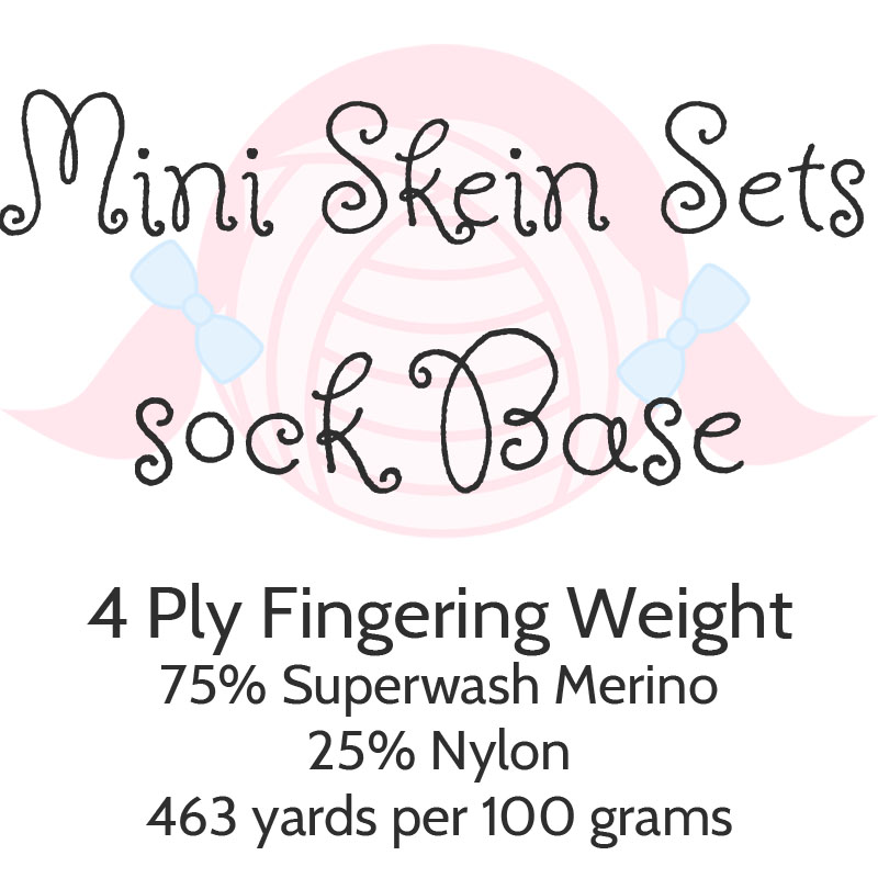 Mini Skein Sets - Sock Base