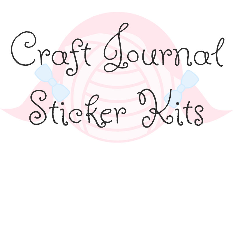 Craft Journal Sticker Kits